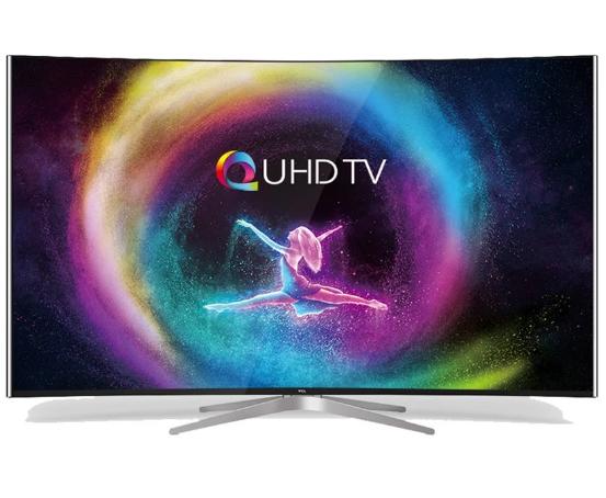Smart Tivi màn hình cong TCL 65inch 4K UHD – Model L65C1-UC (Đen)